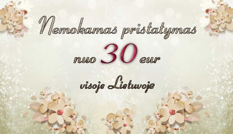 Free shipping over 30 eur for Lithuania